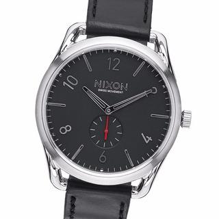 Reloj Nixon A465008 Cuadrante Acero Malla De Cuero 10 Atm