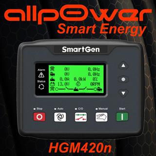 Controlador P/ Grupos Electrógenos Transferencia Automatica Hgm420 Tipo Comap Amf Allpower Smart Energy