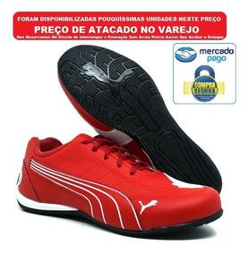 e775d9167c O Melhor Tenis Para Caminhada Para Homem - Tênis Urbano Vermelho com ...