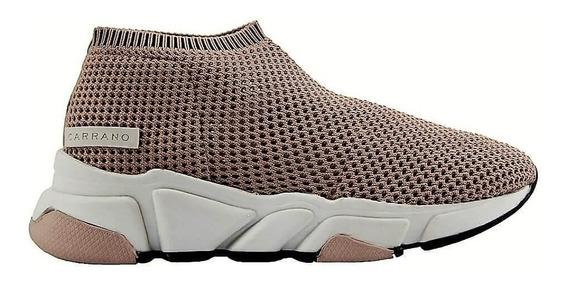 Tênis Sneakers Carrano Tecido Tricot Feminino 160403