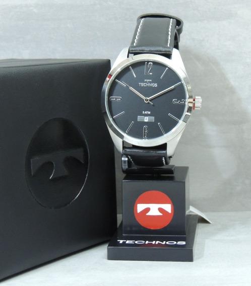 Relógio Technos Masculino 2115mnx/1p Classic Steel - Nfe