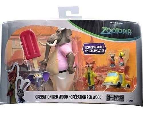 Imagem 1 de 3 de Disney Zootopia Operação Floresta Vermelha Set Mega Promo