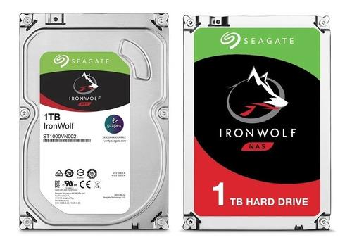 Disco Rigido 1tb Seagate Ironwolf 1tb 7200rpm 64mb 4 Nas Pc