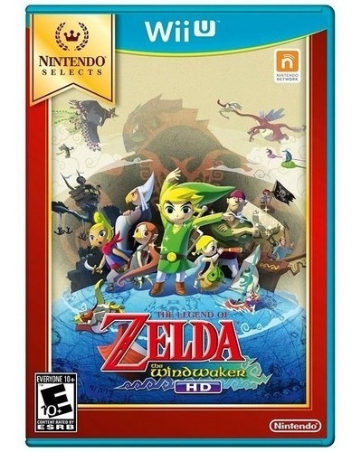 The Legend Of Zelda The Wind Waker Wii U