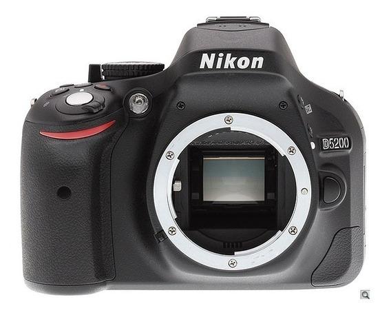 Nikon D5200 13.485 Clicks + Lente Nikon 35mm + Case + 64 Mb