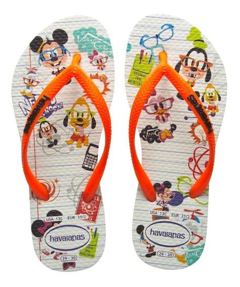 Zonazero Ojotas Havaianas Kids Disney Cool Niños Originales