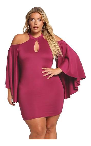 Sexy Vestido Corto Fiesta Noche Antro Plus Size E610521