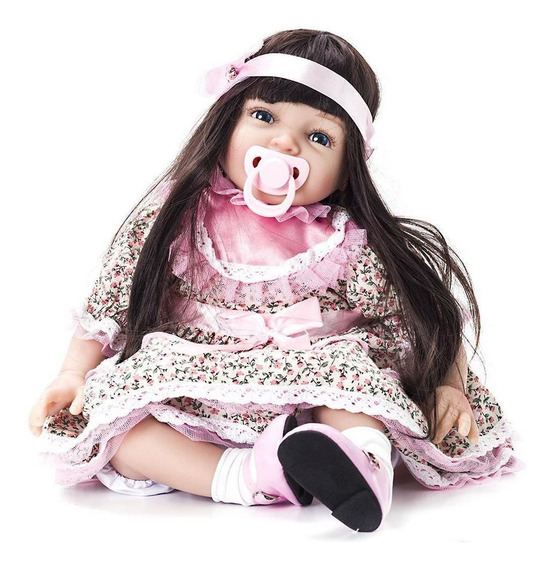 Boneca Bebê Reborn Menina Linda Kaydora Fernanda Original