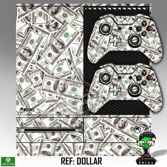 Skin Xbox One + 2 Controles De Brinde Adesivo Com Verniz