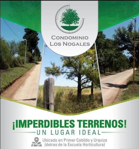 Excelentes Lotes Condominio Los Nogales  - Financiación %50