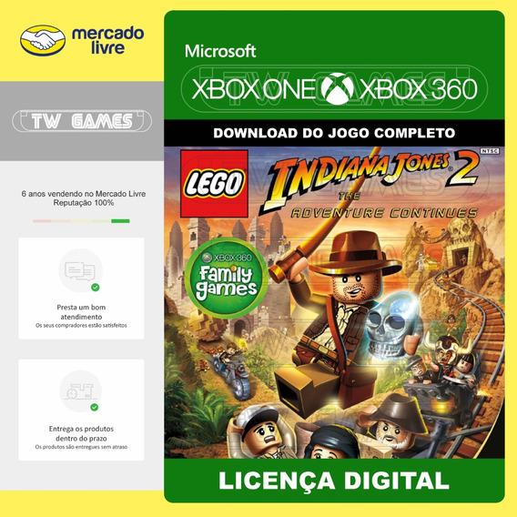 Lego Indiana Jones 2 Digital Retro Xbox One Xbox 360