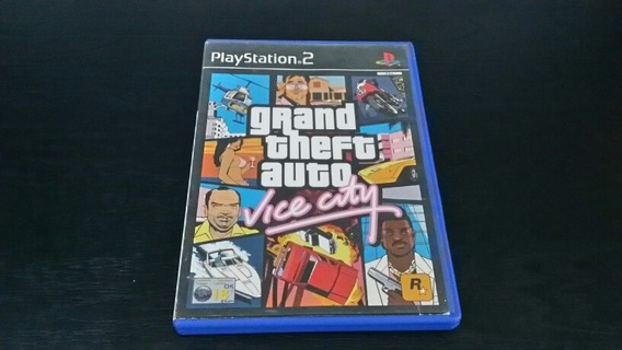 Grand Theft Auto Vice City Ps2 Original
