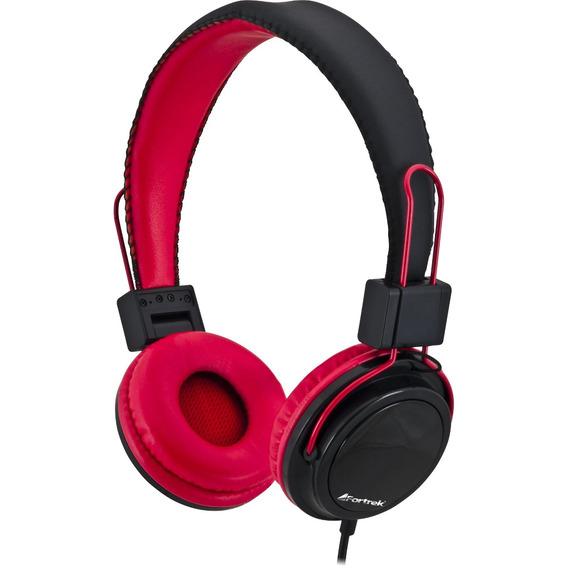Fone De Ouvido Com Microfone Para Celular Hs-313 P/ Vermelho