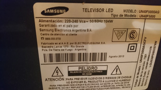 Tv Samsung Led 40 P Usado Perfecto Estado