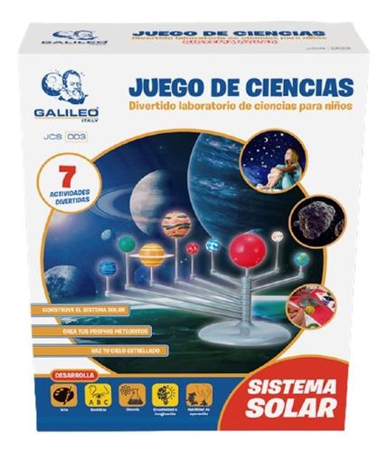 Juego De Ciencias Sistema Solar Galileo