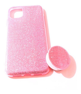 Capa/capinha Glitter Com Pop Socket Apple iPhone 11