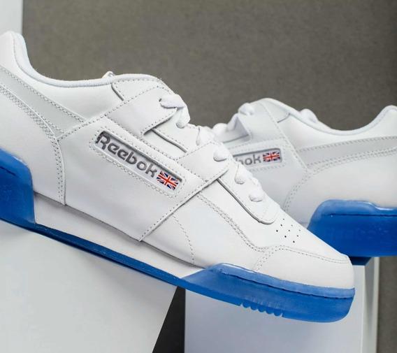 Tenis Reebok Classic Retro Azul Unisex Talla Hombre Us 8
