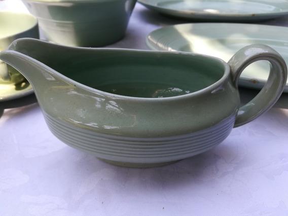 Salsera Gress Wood´s Ware Beryl England, Verde