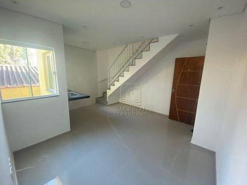 Cobertura Com 2 Dormitórios À Venda, 86 M² Por R$ 345.000,00 - Jardim Utinga - Santo André/sp - Co4831