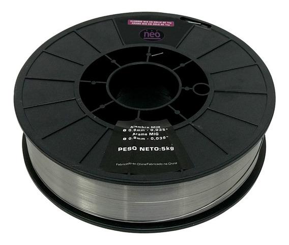 Alambre Mig Neo 5kg - 1mm - Suelda Sin Gas - A10/10/5