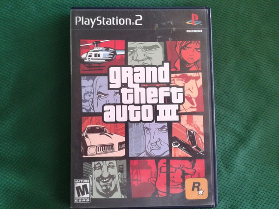 Gta 3 Grand Theft Auto 3 Ps2 Original