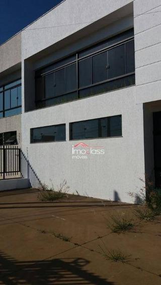 Salão Comercial Para Locação, Jardim Werner Plaas, Americana. - Sl0033