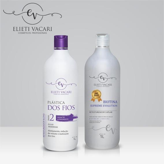 Plástica Dos Fios Blond + Ativo Biotina