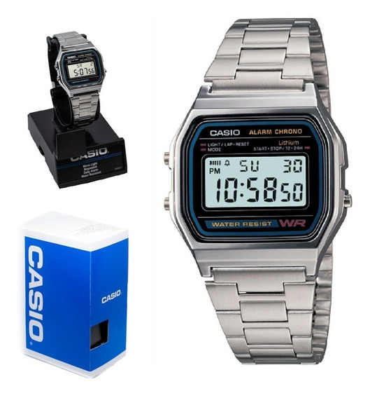 Reloj Casio Retro Vintage A-158wa-1
