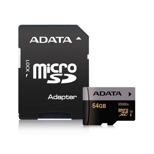 Memoria Micro Sd 64 Gb Clase 10 Premier Pro 4k - Adata