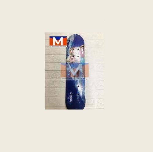 Imagen 1 de 3 de  Tabla De Skate Banana Transparente Con Luz Led