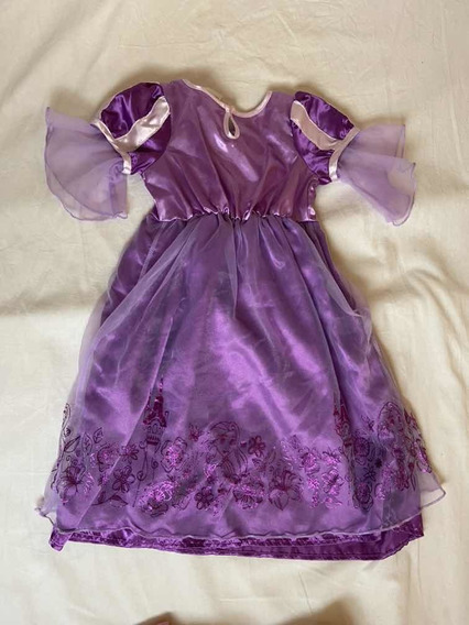 Vestido Rapunzel Original Disney Talle 2