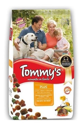 Imagen 1 de 4 de Racion Perro Adulto Tommy's Plus 15kg +7kg + Envio Gratis