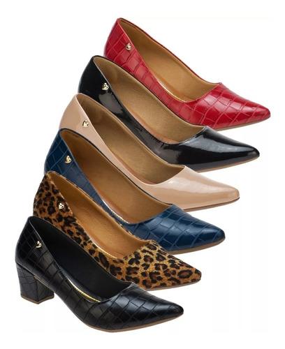 dcfaf42bf Atacado Scarpin Kit 6 Par - Sapatos com o Melhores Preços no Mercado ...