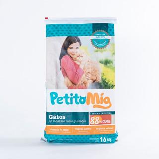 Alimento Para Gatos Petito Mío® 16 Kg Croquetas