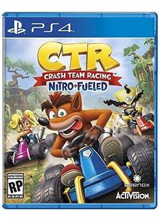 Crash Team Racing - Nitro Fueled - Ps4 Fisico (21jun2019)