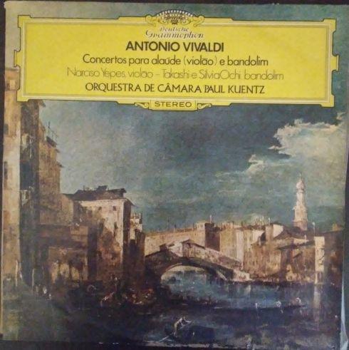 Lp Vivaldi Concertos Para Alaúde (violão) E Bandolim - Yepes