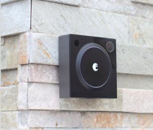 August Doorbell Cam Pro. Videoportero Wifi Color Negro.