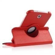 Capa Em Couro Com Suporte 360º Para Samsung Galaxy Note 8.0