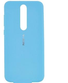 Funda Silicona Full Cover Para Nokia 5.1 Plus
