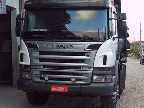 Scania P 420 6x4 Automática Caçamba