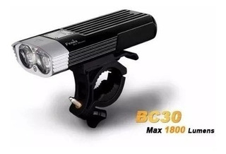 Fenix Bc30 Lanterna P/ Bicicleta - 1800 Lumens Dual Led/beam