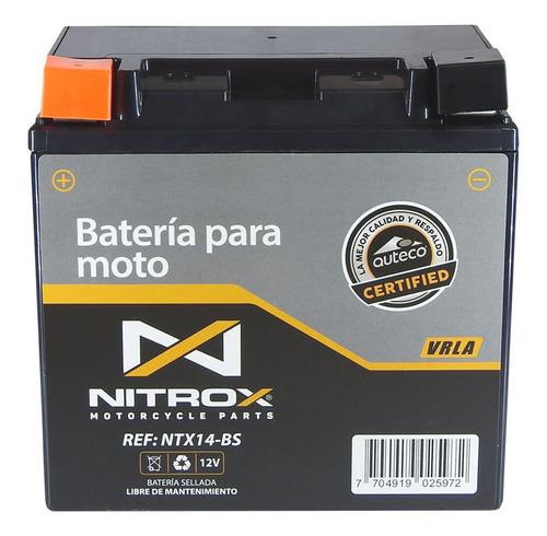 Imagen 1 de 2 de Batería Nitrox  Moto F800gs
