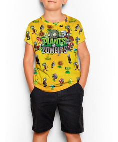 Remeras Plants Vs Zombies Gamer Full Print