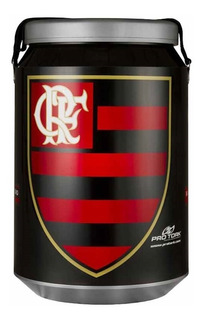 Caixa Cooler Térmico Do Flamengo 24 Latas 350ml Pro Tork