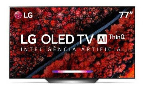 "Tv 77"" Oled LG 4k - Ultra Hd Smart - Oled77c9p"