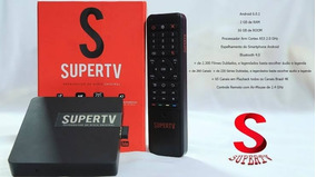 Super Tv ( Red) 4k Hd Android Tv 6.0 Google Ca