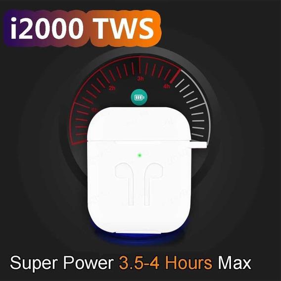 Tws I2000 Bluetooth Com Pop-up - Idêntico AirPods 2