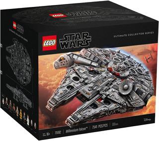 Lego 75192 Halcon Milenario 7541 Pzas