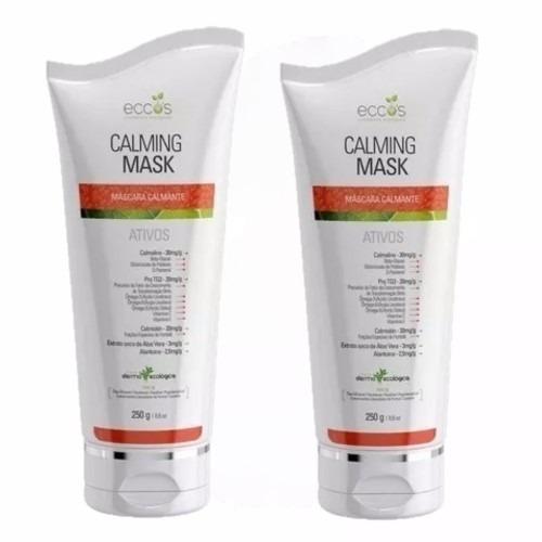 Máscara Calmante Eccos Cosméticos Calming Mask 250g 02 Unid