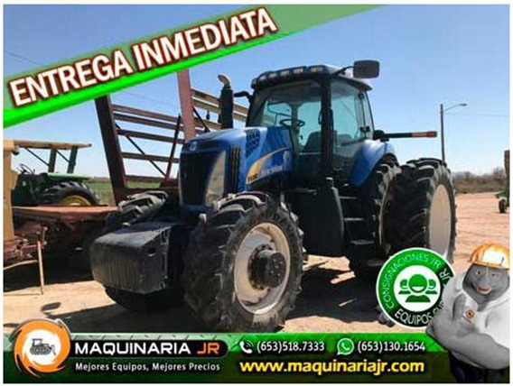 Tracto 2008 New Holland T8050, Agricola, New Holland, Tracto
